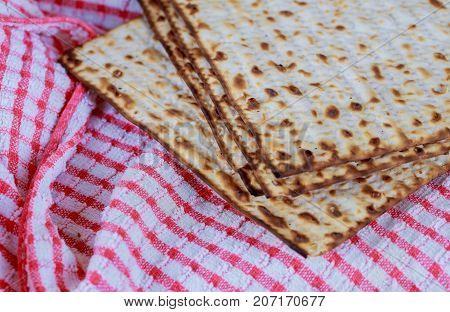 Matzo Flatbread For Jewish High Holiday Celebrations