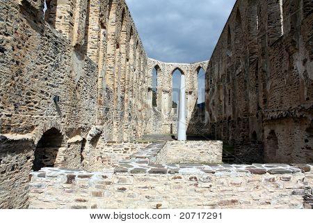 Monastery Ruins Stuben
