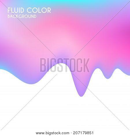 Fluid color background. Liquid color. (EPS 10)