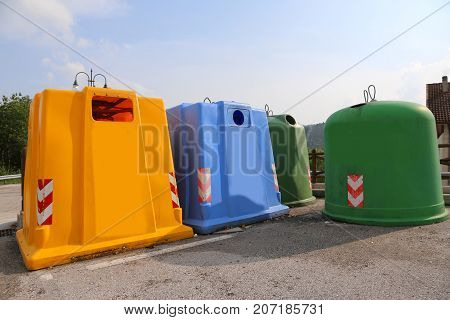 Waste Recycling Center To Recycle Materials