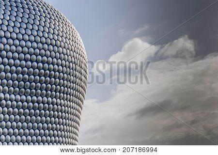 Birminghamm, UK - October 3rd, 2017: the Bullring Shopping Centre Birmingham England