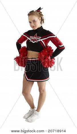 Cheerleading pose
