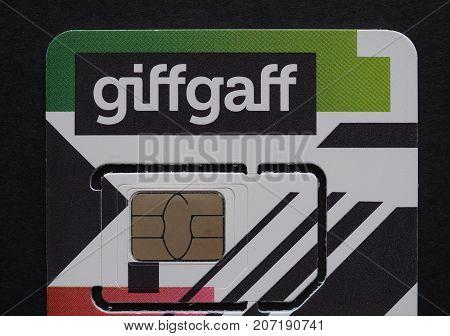 Giffgaff Sim Card In London
