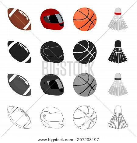 Competitions, training, attributes and other  icon in cartoon style. Coquette, tennis, sports icons in set collection.