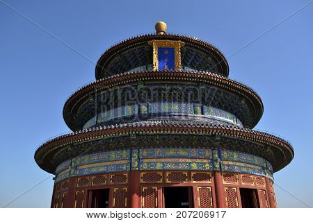 Closer To Temple Of Heaven, Beijing. Pic Was Taken In September 2017. Translation: