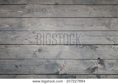 Dark Gray Wooden Floor Background Photo