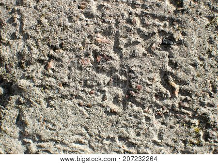 Texture Of Gray Uneven Concrete Wall. Grunge Background