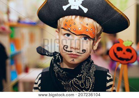 Kids pirate makeup