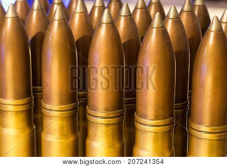 Large Shells, Used For Naval Battles