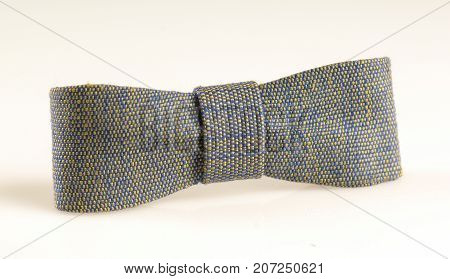 Linen Tie On White Background