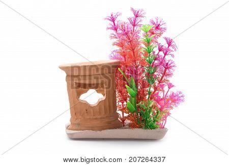 Artificail Plastic Water Plants For Aquarium Decoration Fish Tank