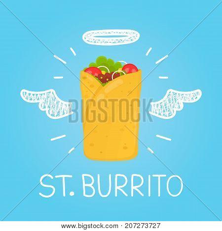Heaven burrito concept