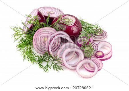 Red Onion Rings