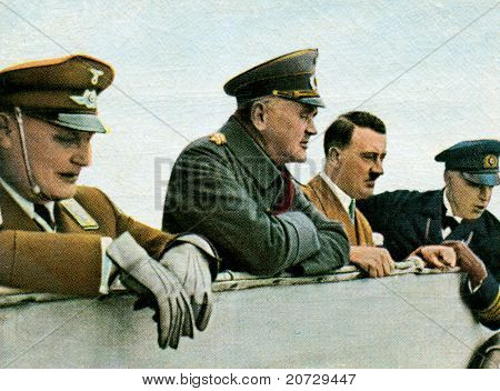 Kiel - 1933: Adolf Hitler and Personnel