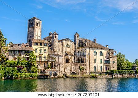 Orta Lake - Orta San Giulio island - Novara - Piedmont - Italy