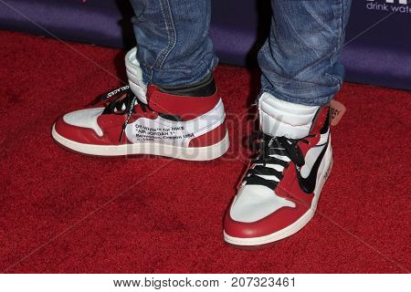 LOS ANGELES - OCT 2:  Vanness Wu (shoe detail) at the