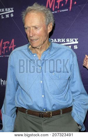 LOS ANGELES - OCT 2:  Clint Eastwood at the