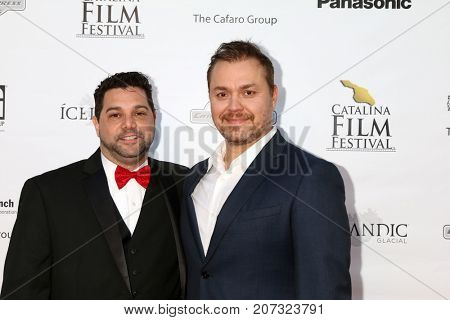 LOS ANGELES - SEP 30:  Ron Truppa, Theodore Melfi at the Catalina Film Festival - September 30 2017 at the Casino on Catalina Island on September 30, 2017 in Avalon, CA
