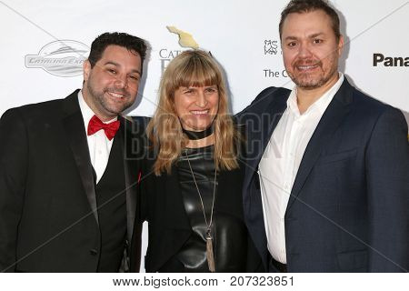 LOS ANGELES - SEP 30:  Ron Truppa, Catherine Hardwicke, Theodore Melfi at the Catalina Film Festival - September 30 2017 at the Casino on Catalina Island on September 30, 2017 in Avalon, CA