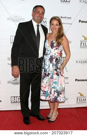 LOS ANGELES - SEP 30:  wife, Carl Cafaro at the Catalina Film Festival - September 30 2017 at the Casino on Catalina Island on September 30, 2017 in Avalon, CA