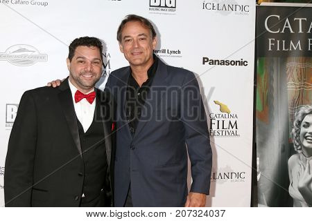 LOS ANGELES - SEP 30:  Ron Truppa, Jon Lindstrom at the Catalina Film Festival - September 30 2017 at the Casino on Catalina Island on September 30, 2017 in Avalon, CA