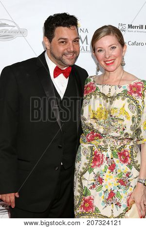 LOS ANGELES - SEP 30:  Ron Truppa, Cady McClain at the Catalina Film Festival - September 30 2017 at the Casino on Catalina Island on September 30, 2017 in Avalon, CA