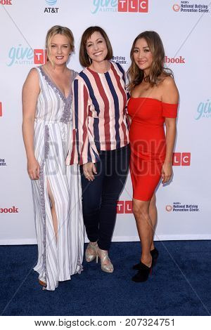 LOS ANGELES - SEP 27:  Joanie Dodds, Paige Davis, Kahi Lee at the TLC's Give A Little Awards at the NeueHouse Hollywood on September 27, 2017 in Los Angeles, CA