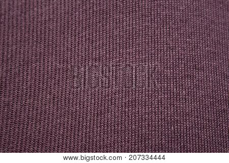 Bordeaux dark red fabric texture close up