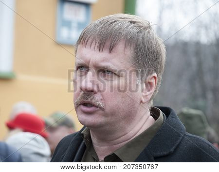 KIEV (KYIV) UKRAINE -March 22 2016:Ukrainian politician Taras Chornovil