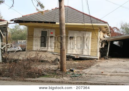 Katrina Aftermath - Hurricane Damage