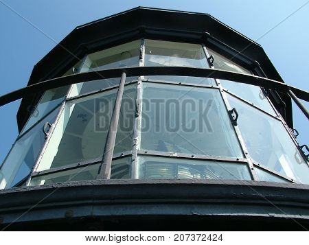 Top of the Corolla Lighthouse North Carolina