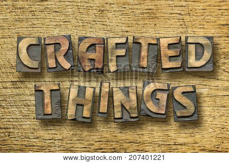 Crafted Things Wooden