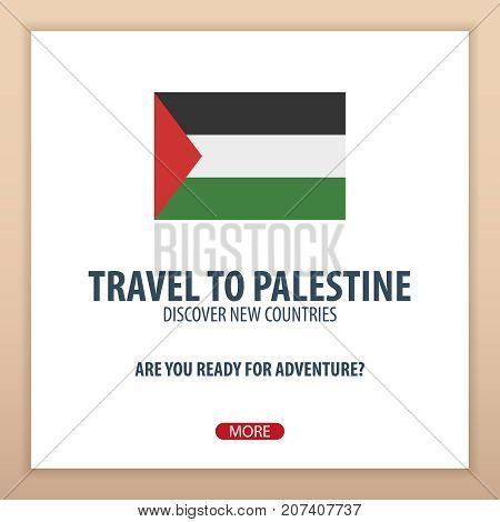 Travel To Palestine. Discover And Explore New Countries. Adventure Trip.