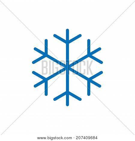 Snowflake Vector Icon