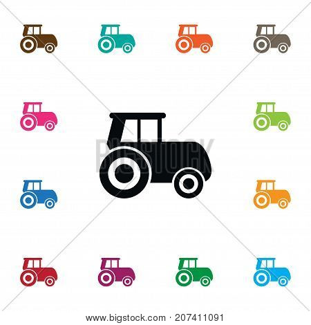 Agriculture Transport Vector Element Can Be Used For Husbandry, Agriculture, Transport Design Concept.  Isolated Husbandry Icon.