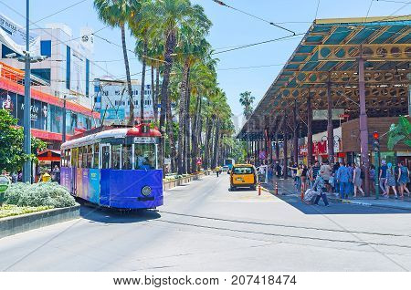 The Busy Center Of Antalya