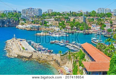 Viewpoints In Old Antalya