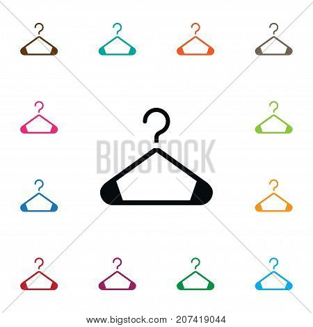 Store Vector Element Can Be Used For Hanger, Store, Showcase Design Concept.  Isolated Showcase Icon.