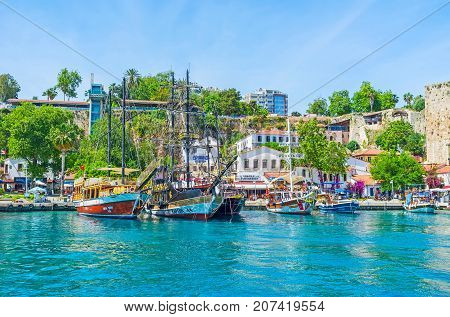Marina Of Antalya