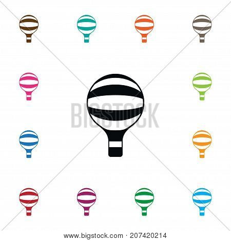 Fly Vector Element Can Be Used For Fly, Air, Balloon Design Concept.  Isolated Sky Icon.