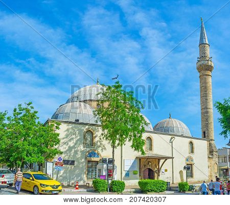 Mosque In Old Antalya