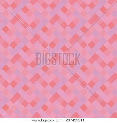 sunrise pastel pink concept seamless pattern. geometry motif in dawn colors. vector illustration. color design element. abstract pixel plaid tile.