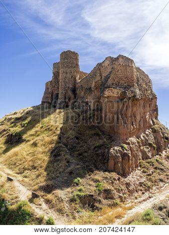 Arnedo castle ruins image at La Rioja