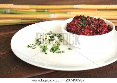 Beetroot Chimichurri