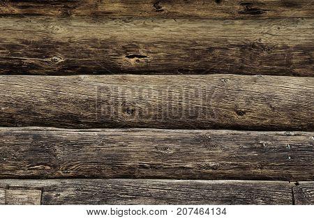 Obsolete Wooden Logs