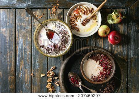 Variety Bowls Of Porrige