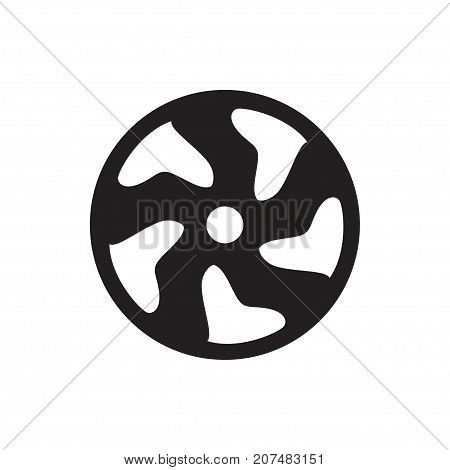 Alloy Wheel Icon