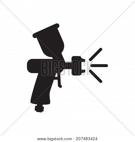 Paint Spray Gun Icon