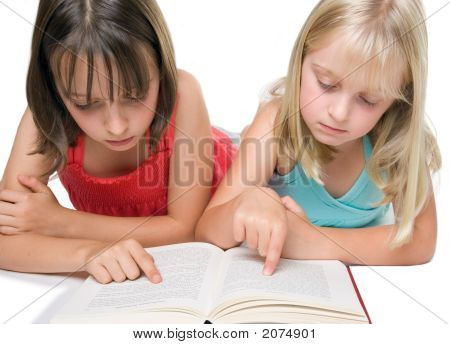 Two Sisters Reading