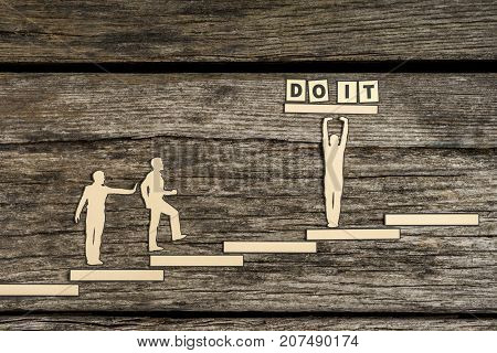 Do It Concept With Paper Cutouts